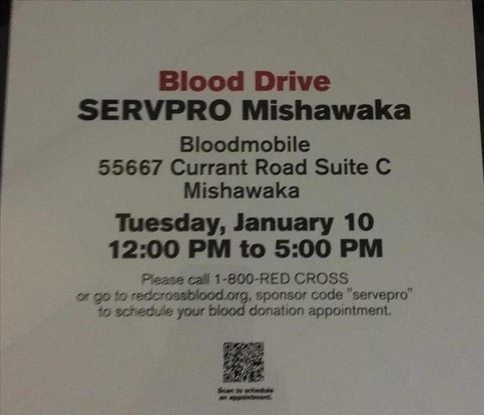 Red Cross & SERVPRO Blood Drive