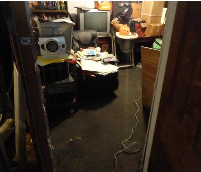 Basement flooding in South Bend