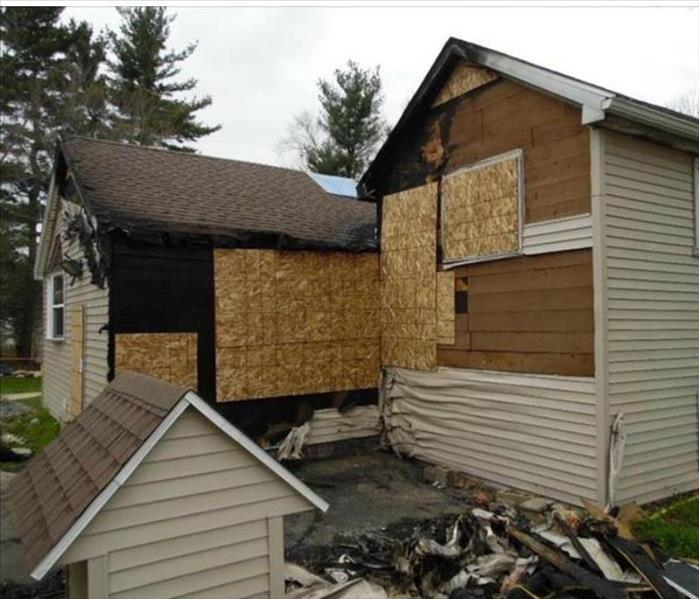Structural Fire Damage in St. Joseph County