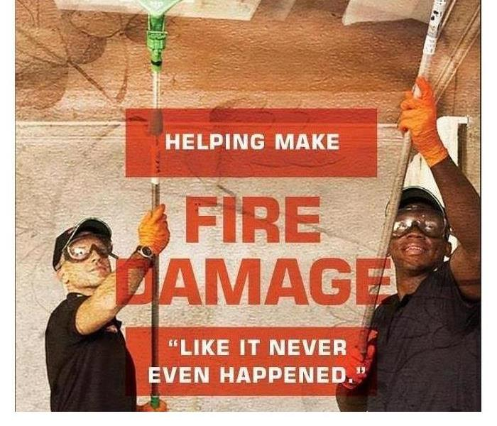 Why SERVPRO Why SERVPRO when it comes to fire damage?