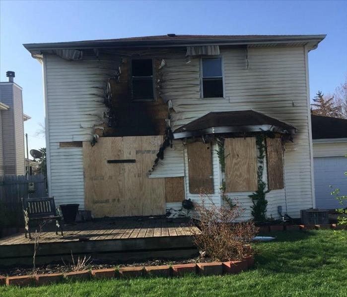 Fire Damage Emergency Board Up for South Bend
